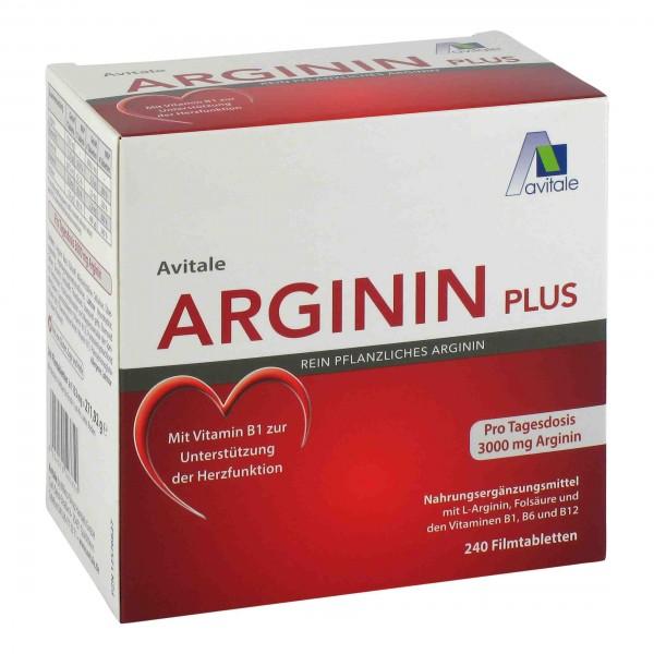Arginin 750 mg - 240 Tabletten